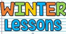 K-5 Winter Lessons / This is a collaborative board for K-5 winter seasonal lessons, ideas and activities. You may pin up to 10 varied pins per day which are blog posts, ideas, free products or paid products. Accepting new collaborators! Please email sherri.thetechiechick@gmail.com if you are interested in collaborating.