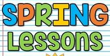 K-5 Spring Lessons / This is a collaborative board for K-5 spring seasonal lessons, ideas and activities. You may pin up to 10 varied pins per day which are blog posts, ideas, free products or paid products. Accepting new collaborators! Please email sherri.thetechiechick@gmail.com if you are interested in collaborating.