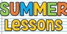 K-5 Summer Lessons / This is a collaborative board for K-5 summer seasonal lessons, ideas and activities. You may pin up to 10 varied pins per day which are blog posts, ideas, free products or paid products. Accepting new collaborators! Please email sherri.thetechiechick@gmail.com if you are interested in collaborating.