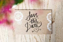 Cute Wedding Invites / A few wedding invites I have found on the interweb that are super cute & creative / by Katrina Massey Photography