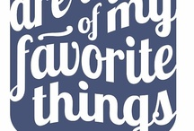 a few of my favorite things / Books I like, movies I love and the music I like to listen to :) / by Patti Brown