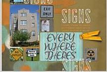 everywhere there's SIGNS / Youe guessed it: signs! / by Patti Brown
