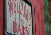 welcome to the Barn! / like to look at barns and try to figure out there story! :) / by Patti Brown