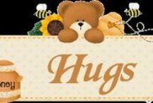 Teddybear Hugs / Teddybears, love em, hug em squeeze em! / by Patti Brown