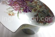 Modern porcelain Interior collectibles / Modern porcelain