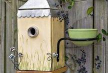Bird houses / Casa de passarinhos / by Gina Pellegrini