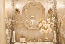 Powder room / by Mary Collins