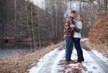Kellie and Matt's Engagement Session / Rustic Pennsylvania Winter Engagement Session