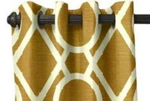 Curtains and Drapes / The Fabric Gallery at Cushion Source is a great place to start when you are considering making your custom curtains and drapes.  Coordinating fabrics are also available for trimming that new creation of yours.  / by Cushion Source