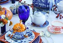 Beautiful tables / Tablescapes and elegant dining table settings