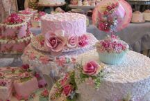 High tea time / Tea cups, treats and beautiful things for high tea, morning or afternoon tea