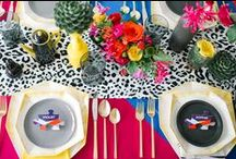 Color Pop Styled Shoots