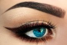 I spy with my little eye... / eyeshadow, eyeliner, eye makeup, eye looks, bright eye colors, smokey eye.  / by Pretty in my Pocket