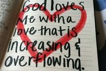 Faith, Hope & LOVE / by Caitie Schroeder