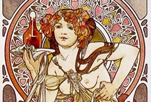 Art: Art Nouveau: Drawing & Painting / Art Nouveau - drawings, paintings, and sketches (classical and contemporary) / by Bonnie Sparkles