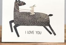 Greeting cards / Illustrated greeting cards so great that you'll want to give them to yourself!