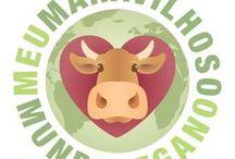 Meu Maravilhoso Mundo Vegano / Receitas e pensamentos veganos. (somente em língua portuguesa)