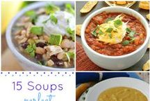 Soups / Yummy soup recipes and meal ideas. Soups are great family friendly meals. Can be quick, easy, healthy and delicious!