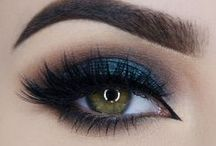 S M O K Y / Looks and products that inspire and will help you achieve that smoky eye!