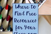 High School Staff Resources / Resources to use with teens in the class or group!