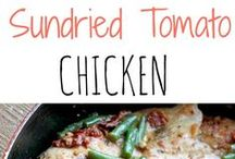 Food: Chicken recipes / Chicken recipes for dinner ideas #food #chicken #recipe #dinner