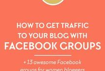 Facebook Tips / Easy to use tips to increase your following and marketability on Facebook!