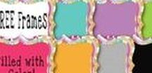 Free Frames and Borders / Free frames and borders for products.