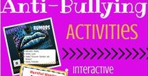 Anti-Bullying Resources for Teens and Young Adults / Resources and activities to promote anti-bullying in your school or organization!