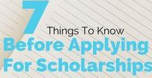 Scholarships for College / Great tips and scholarship opportunities for college!