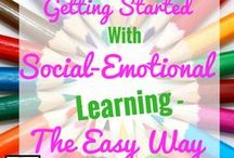 Social-Emotional Learning / Tools and techniques on how to intergrate social-emotional learning in the  classroom!