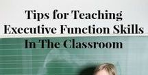 Executive Functioning Resources and Activities for Teens and Young Adults / Tips and ideas for working with students with executive functioning needs!