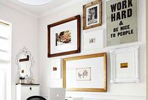 Decorating Walls / Wall decor: Art, gallery walls, photos, wall paper, stencils, and more.