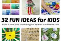 Kids: Fun Stuff! / Fun stuff for playtime with the kiddos. #play #kids / by Erica Voll