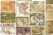 Maps / Decorating with maps