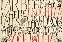 Words / by Karen Kerper