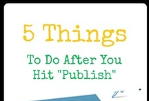 Blogging: Do It Better / Tips for your #blog #socialmedia #vlogging / by Erica Voll