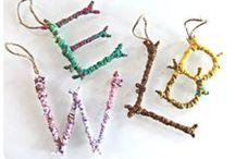 DIY: Letters