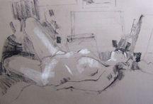 Lesley Trussler's Paintings, Prints & Drawings / by Lesley Trussler