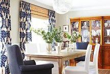 Window Treatments / Window treatment ideas and fabrics