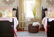 Cozy Bedrooms Ideas / Farmhouse, cozy, traditional, decor and design for any bedroom in your home.