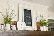 Mantel Decor / Mantel decorating for every mantel style.