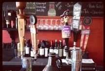 At the Bar / Our carefully crafted beer and wine list is sure to please any palate. Also, be sure to try one of our refreshing beer or wine cocktails
