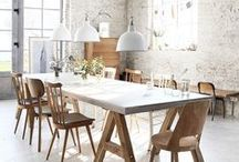 kitchen + dining rooms / inspiring pictures for my dream kitchen + dining space / by Anna Hart / South Molton St Style
