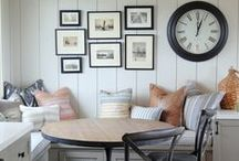 Joanna Gaines Style Decor / Farmhouse style home decor, Fixer Upper, Shiplap, Before and After