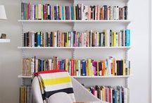 Bokhyller / Plasser til å ha bøkene