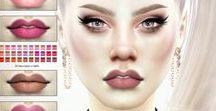 The Sims 4 Lips&Lipstick(CC)