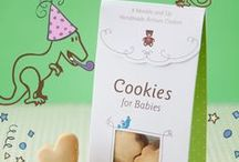 baby snack / it all began... of a mom's search for a tasty yet healthy baby treat.  More at www.cookiesforbabies.com  / by Cookies for Babies ®