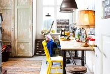 { work space & craftroom } / Inspiration to renew my work space :-)
