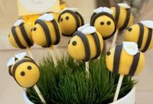 Bee Themed Bridal Shower / The Mommy-to-Bee will love these ideas! All things bumble bee!  Ideas for a sweet babee shower =)  The Invite Lady offers a full line of bee themed invitations and matching items to help you create a buzz about your new addition.