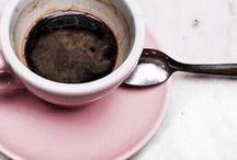 { coffee time } / I drink caffè italiano only.